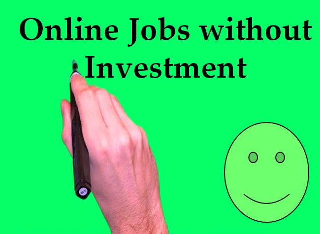 Online Jobs without Investment from Home