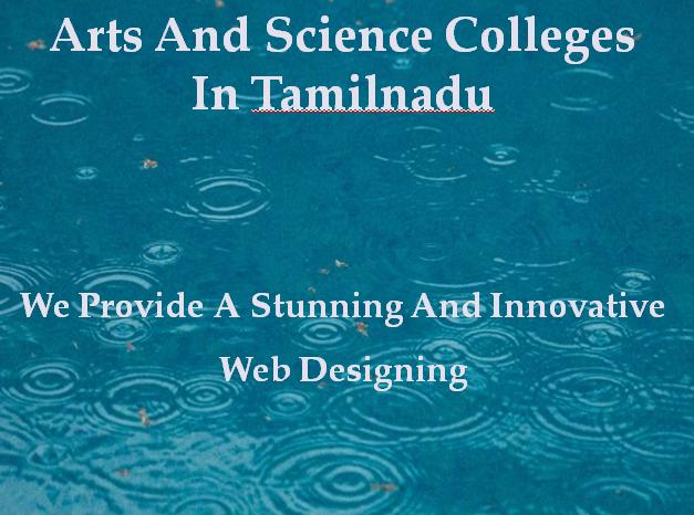 Arts and Science Colleges in Tamilnadu