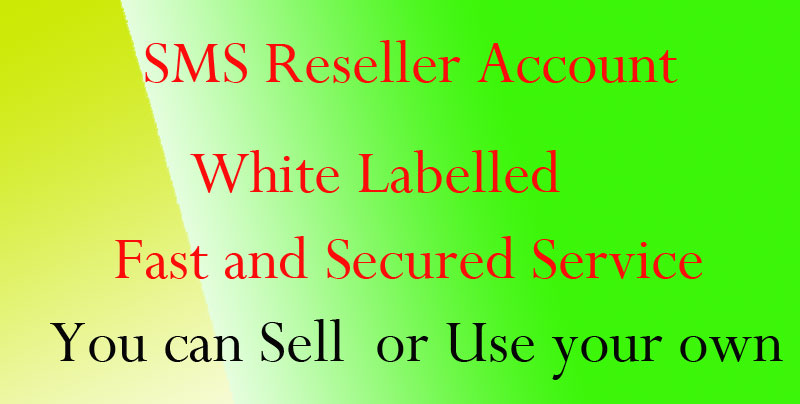 SMS Reseller Account