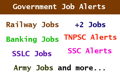 Get Free Government Job Alerts